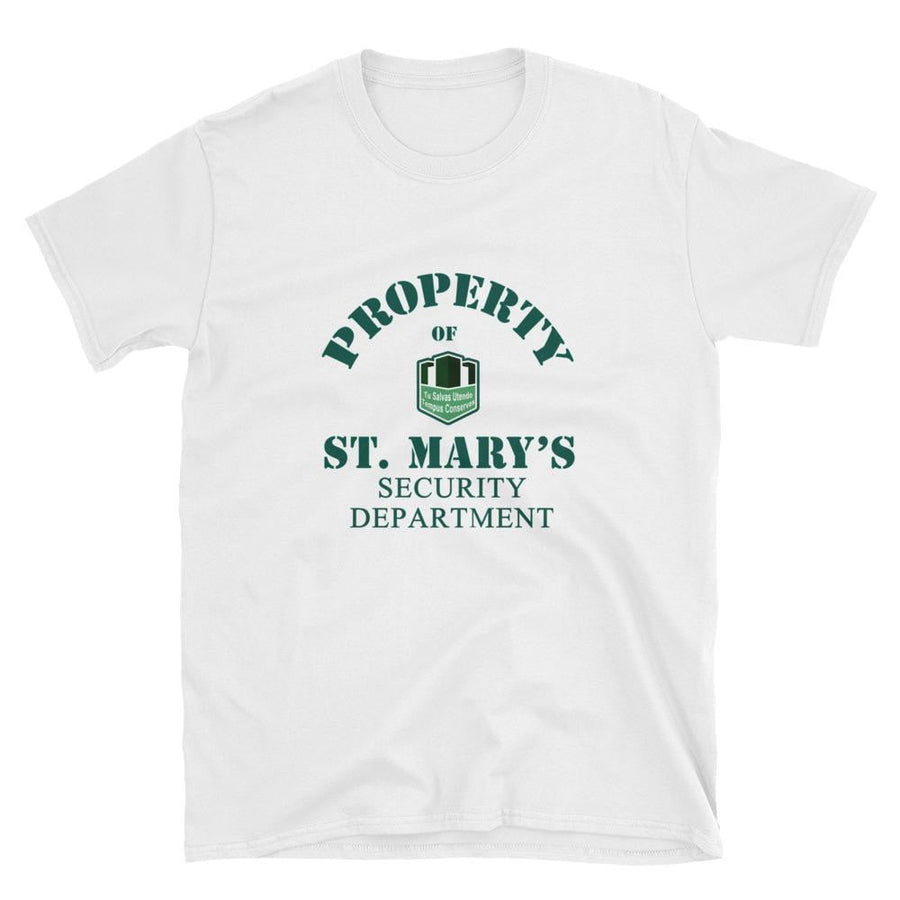 Property of St Mary's Security Department Short-Sleeve Unisex T-Shirt - Jodi Taylor