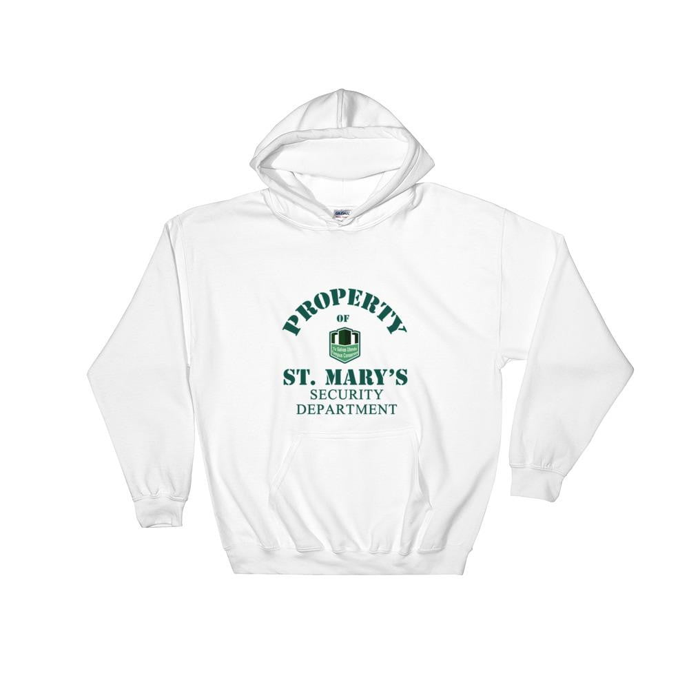 Property of St Mary's Security Department Hooded Sweatshirt - Jodi Taylor