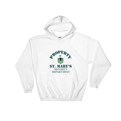 Property of St Mary's Security Department Hooded Sweatshirt
