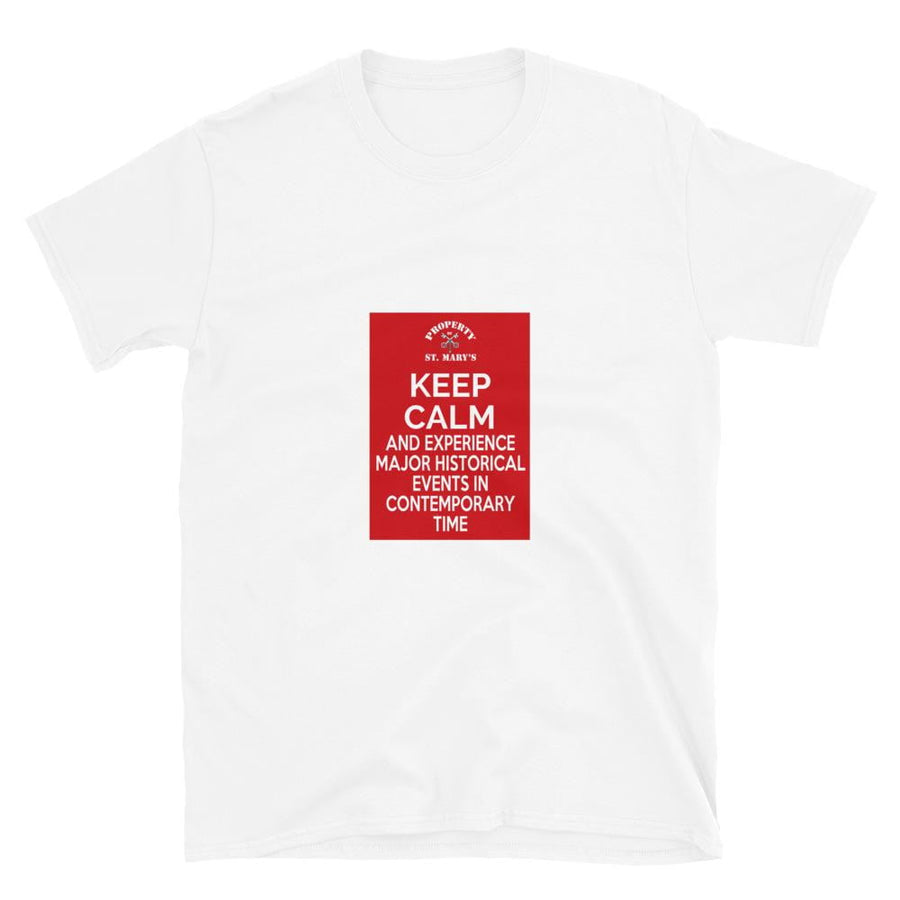 KEEP CALM FUNDRAISER Short-Sleeve Unisex T-Shirt