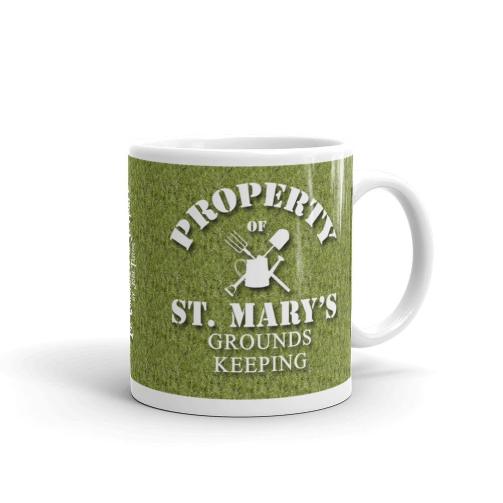 Property of St Mary's Grounds Keeping Mug - Jodi Taylor
