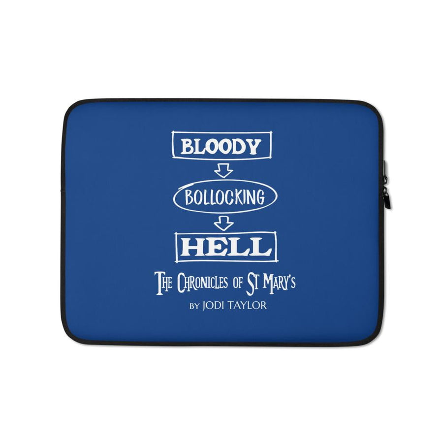Bloody Bollocking Hell Quotes Range Laptop Sleeve