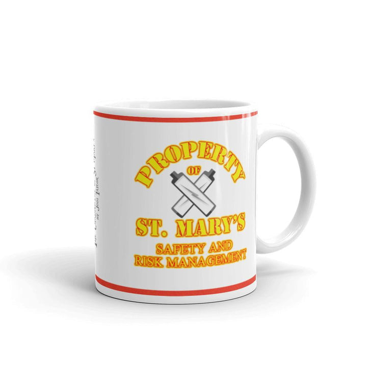 Property of St Mary's Safety & Risk Management Department Mug