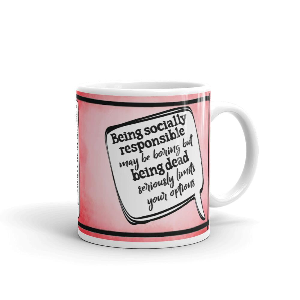 Being Socially Responsible Fundraiser Mug (Europe, USA, Australia) - Jodi Taylor