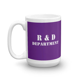 R & D Department Mug