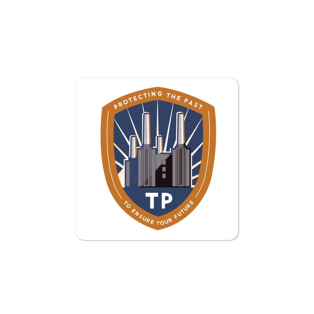 Time Police Emblem Bubble-free stickers - Jodi Taylor