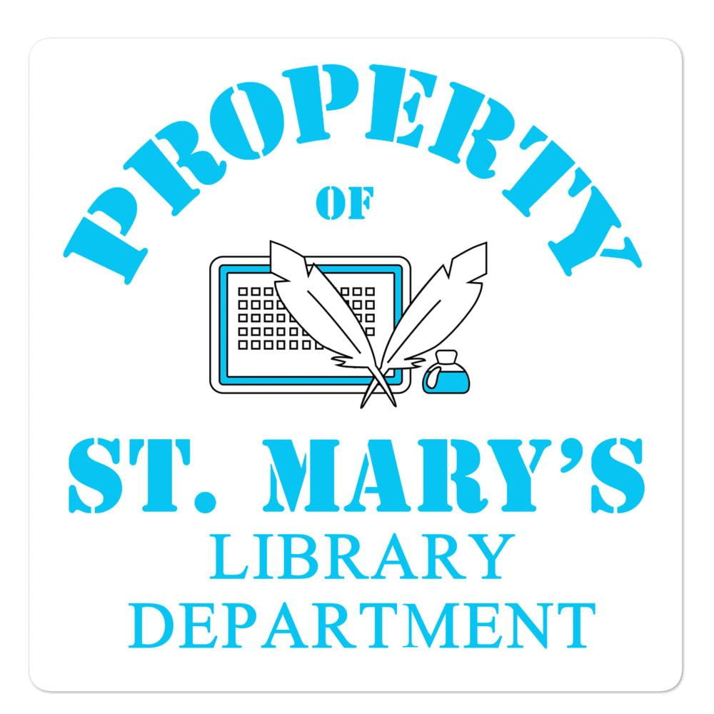 Library Department Bubble-free stickers - Jodi Taylor