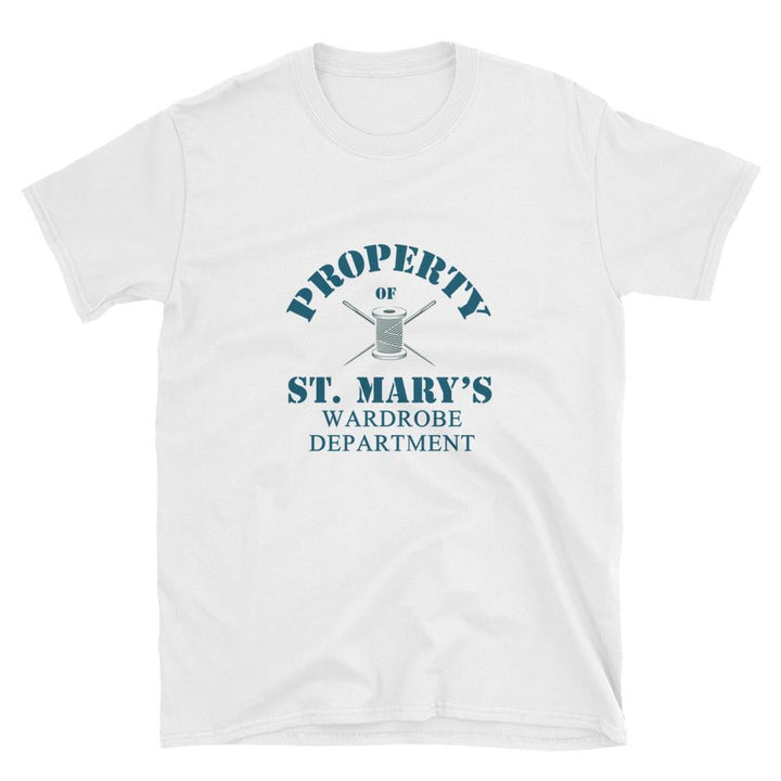 Property of St Mary's Wardrobe Department Unisex Softstyle T-Shirt