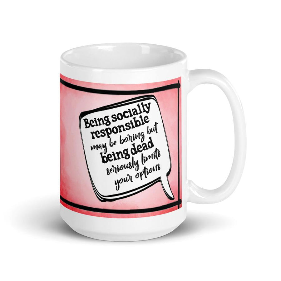 Being Socially Responsible Fundraiser Mug