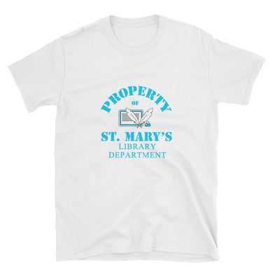 Property of St Mary's Library Department Short-Sleeve Unisex T-Shirt