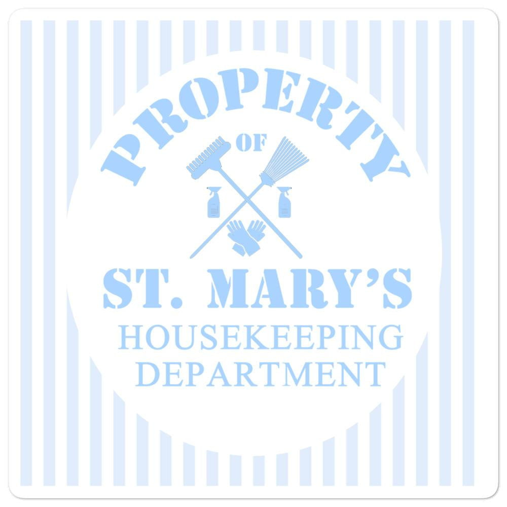 Housekeeping Department Bubble-free stickers - Jodi Taylor