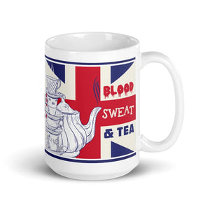 Blood Sweat and Tea Mug - Jodi Taylor
