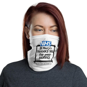 NHS St Mary's Thanks You For Your Service Fundraiser Neck Gaiter