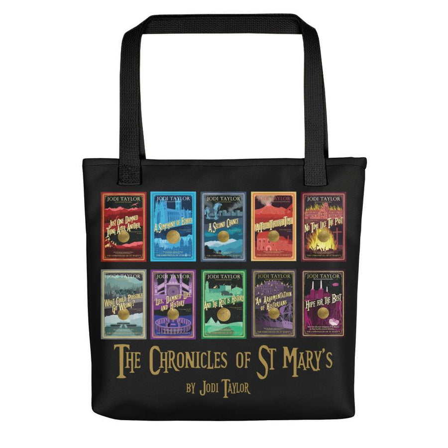 Chronicles of St Mary's Tote bag