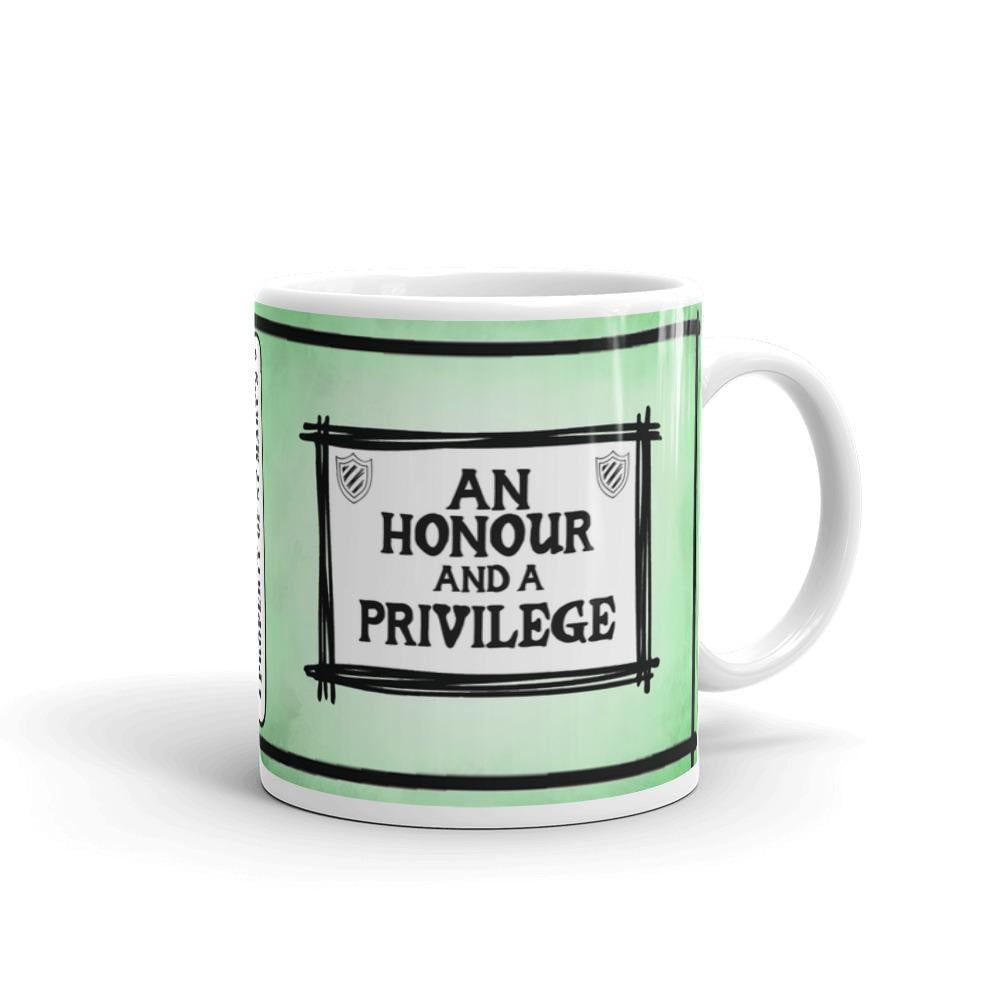 An Honour and a Privilege - St Mary's Quotes Range Mug - Jodi Taylor