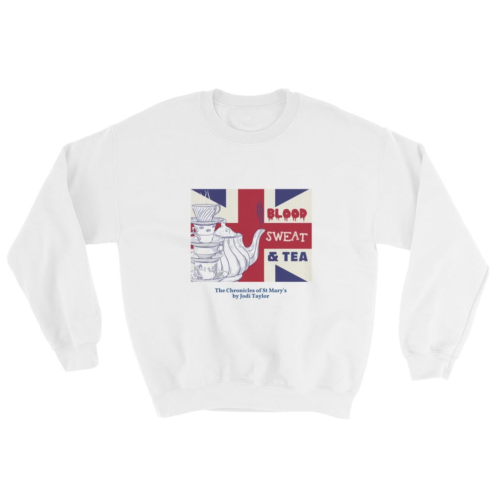 Blood, Sweat and Tea Unisex Sweatshirt - Jodi Taylor