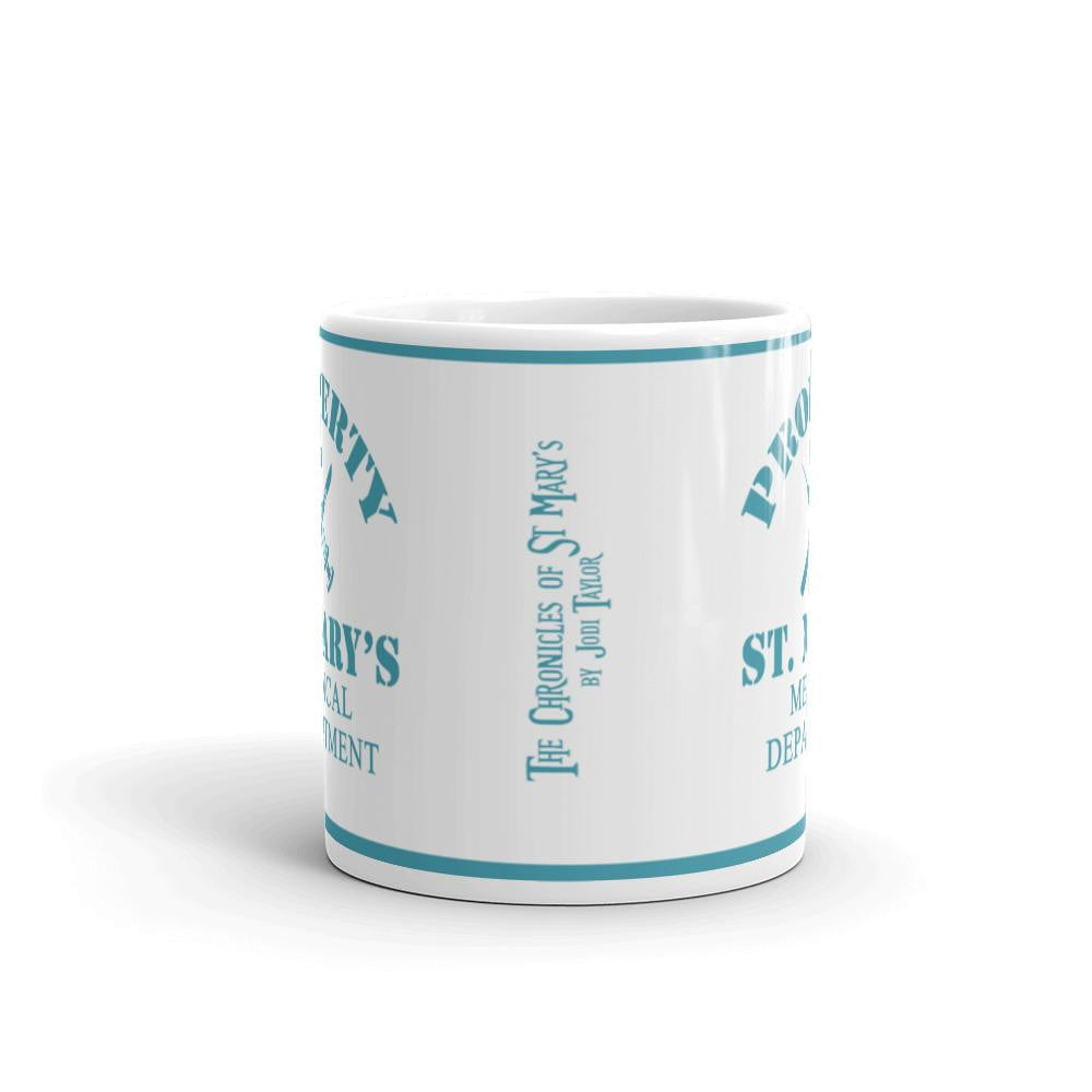 Property of St Mary's Medical Department Mug - Jodi Taylor