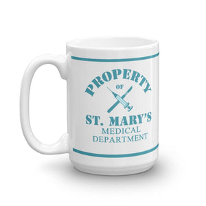 Property of St Mary's Medical Department Mug
