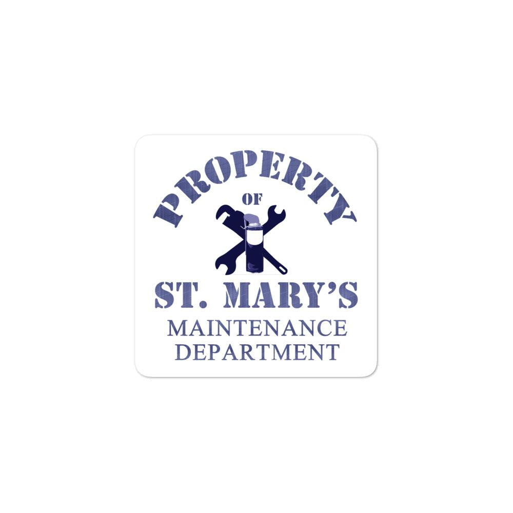 Maintenance Department Bubble-free stickers - Jodi Taylor
