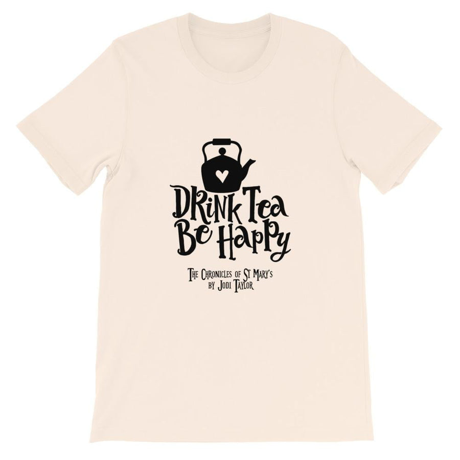 Drink Tea Be Happy Short-Sleeve Unisex T-Shirt