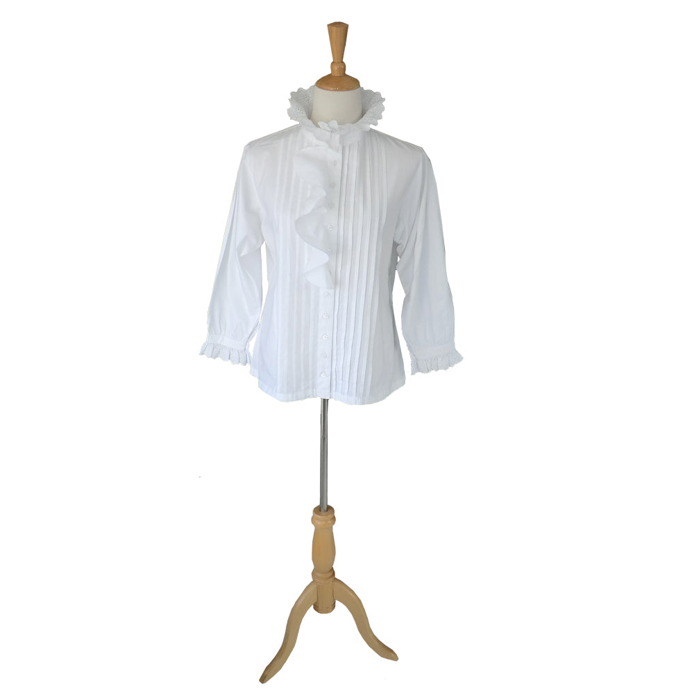 Blouse with Frill Front