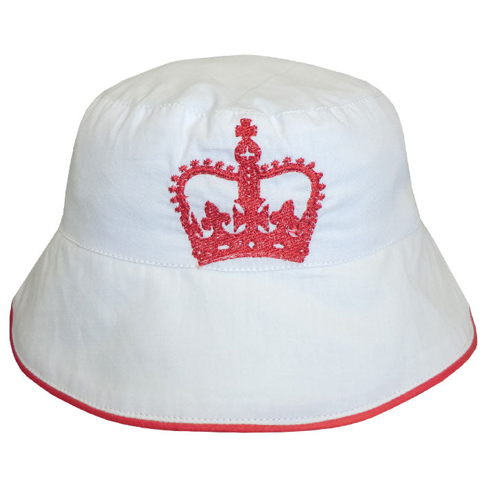 Crown Embroidered Hat