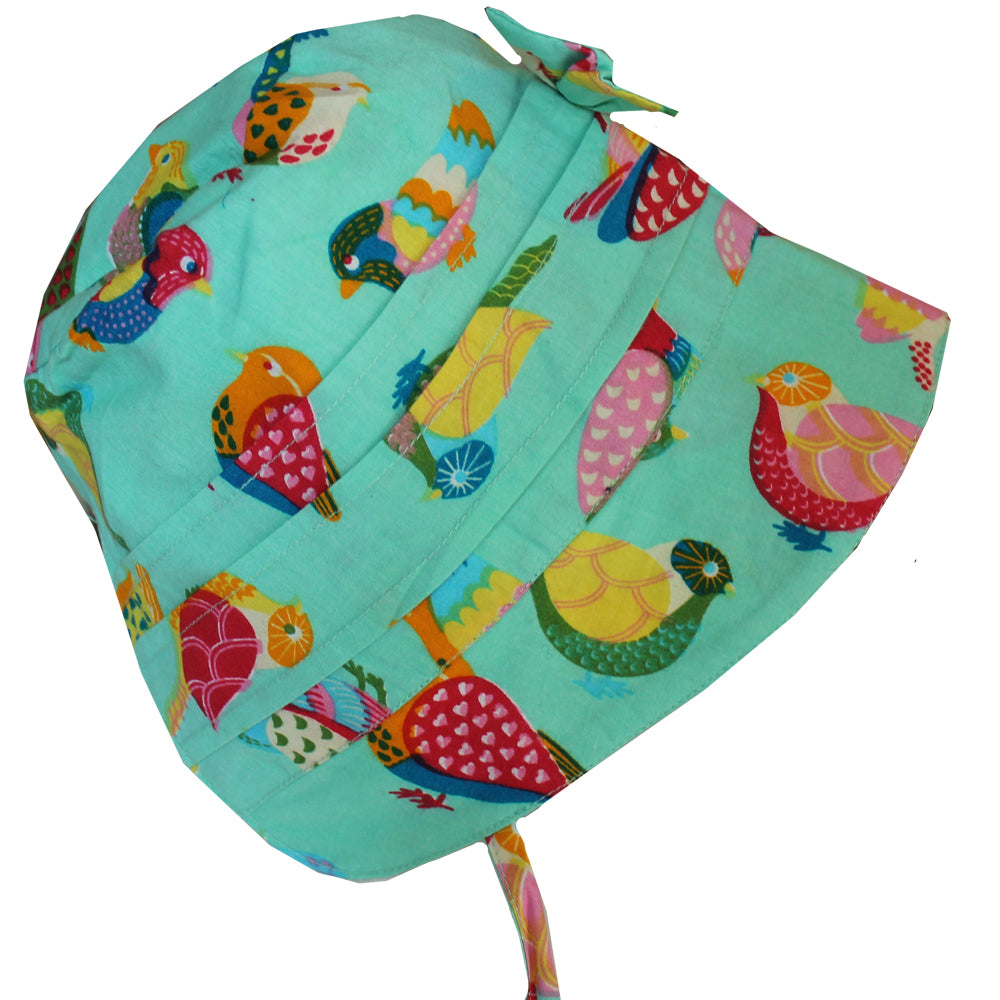 Birds of Paradise Baby Bonnet