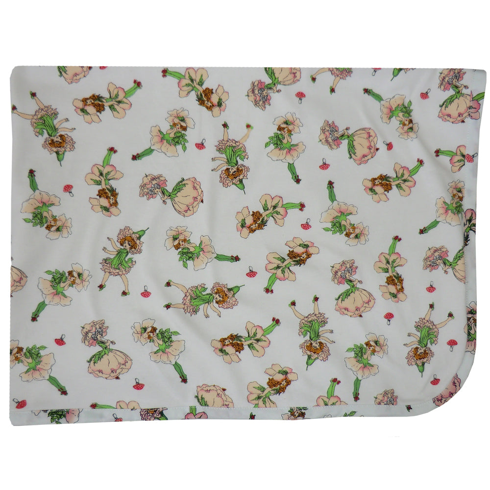 Soft Garden Fairy Baby Blanket