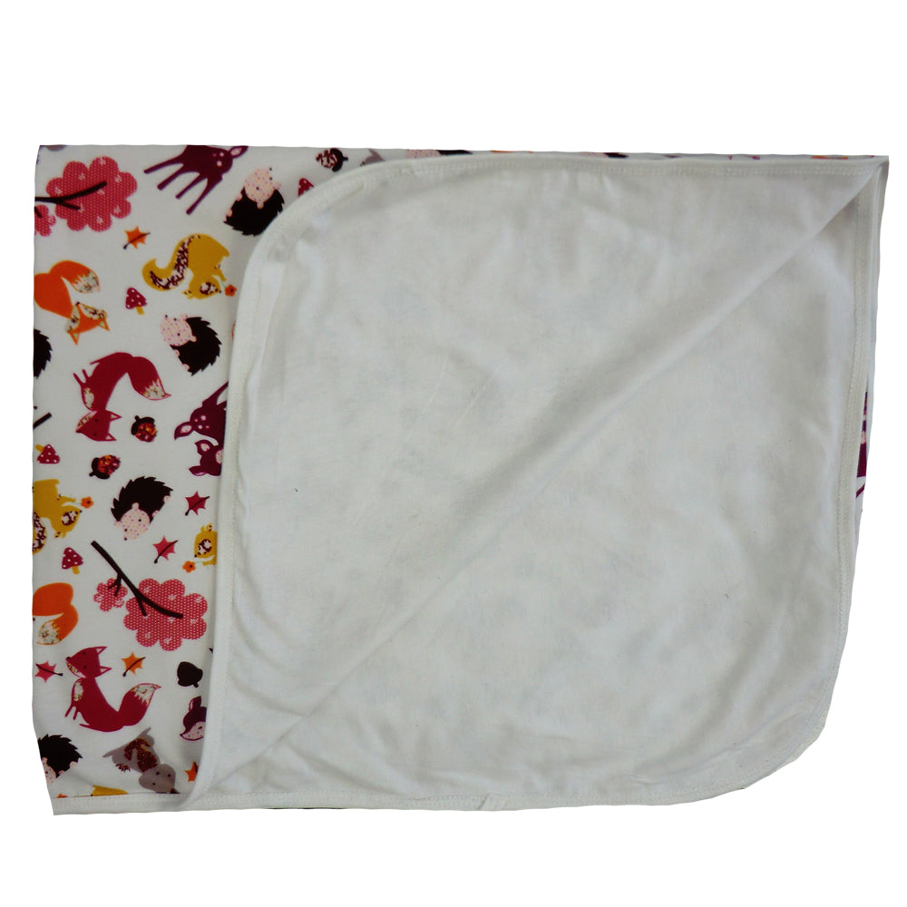 Soft Woodland Baby Blanket