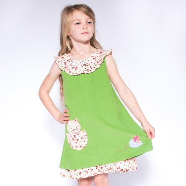 Cat & Mouse Cord Dress