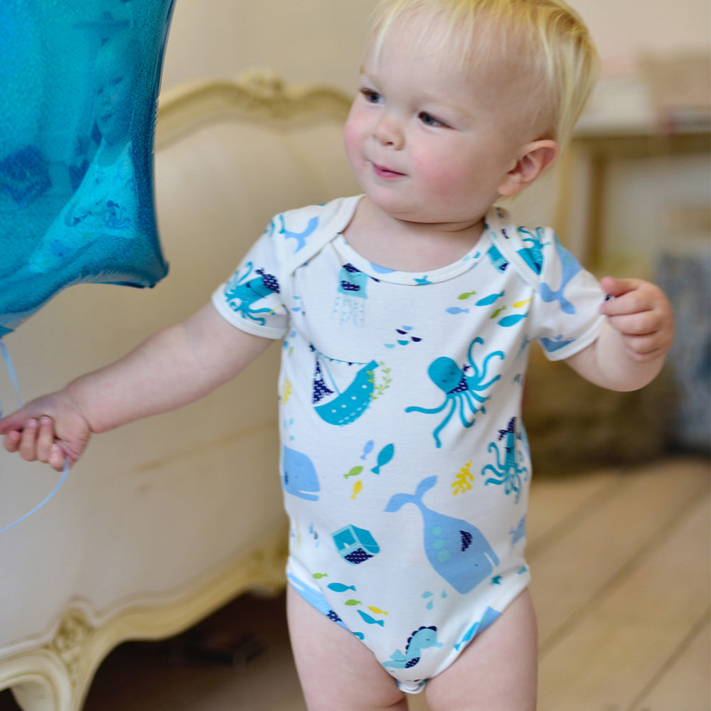 Deep Sea Baby Grow