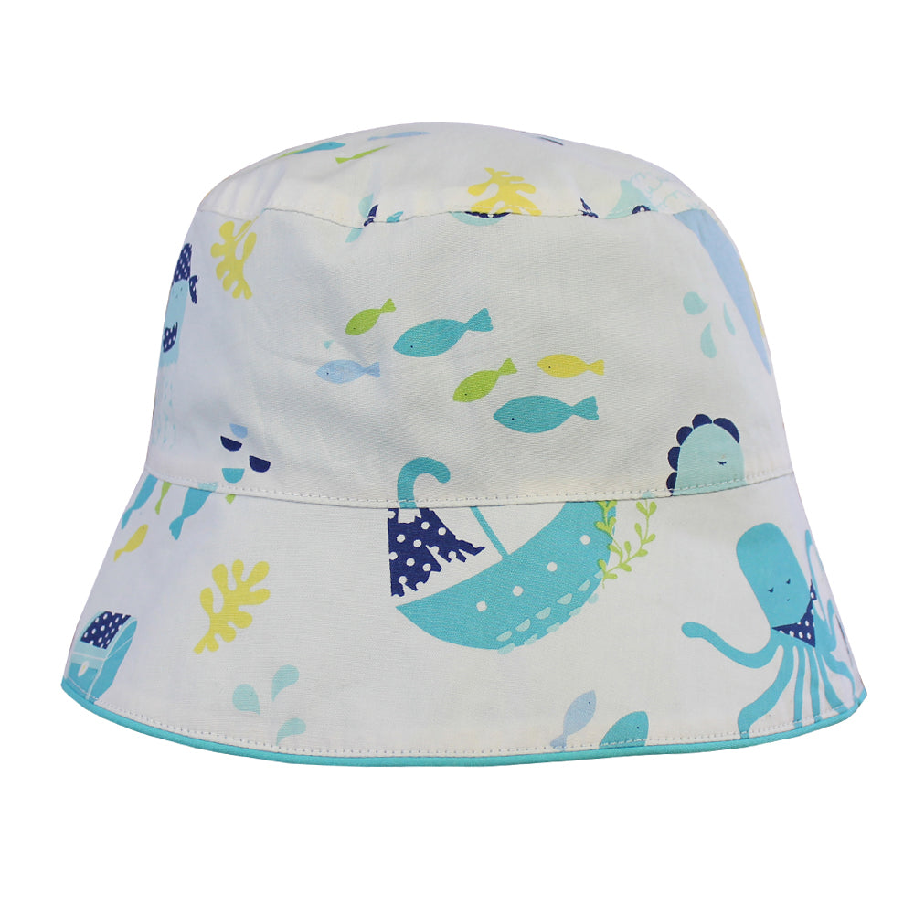 Deep Sea Print Hat