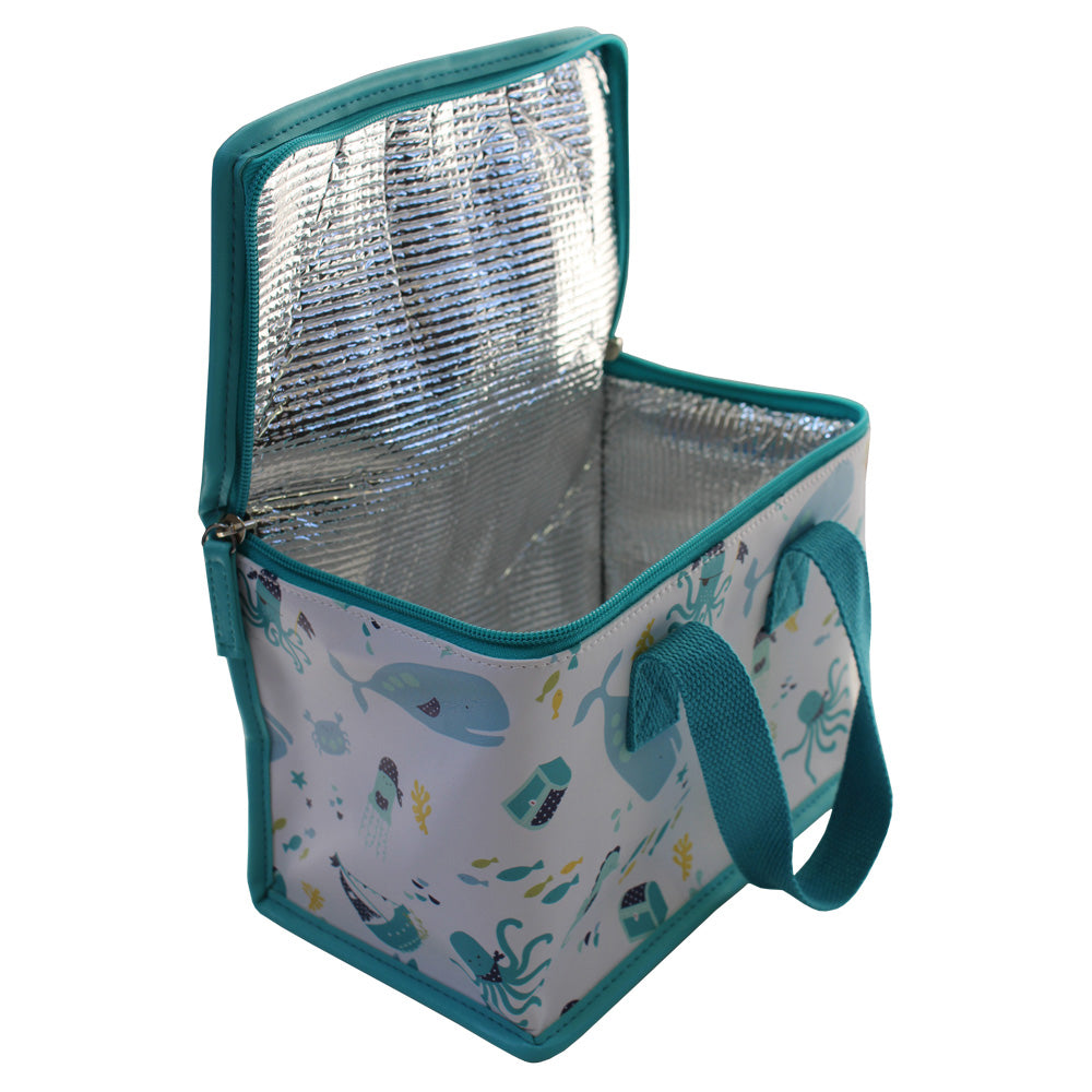 Deep Sea Print Lunch Bag