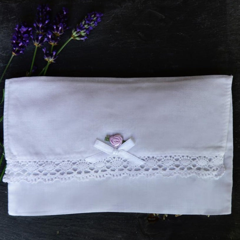 Cotton Lavender Envelope