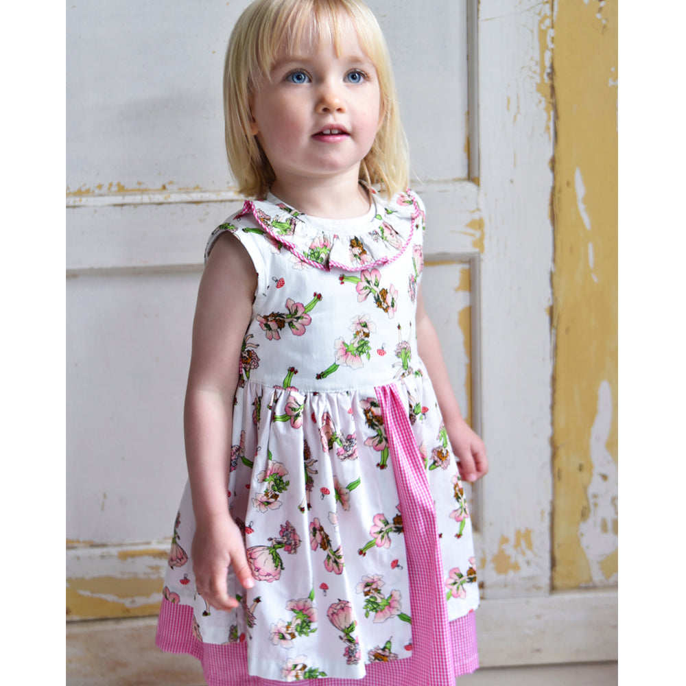 Garden Fairy Pinafore Dress