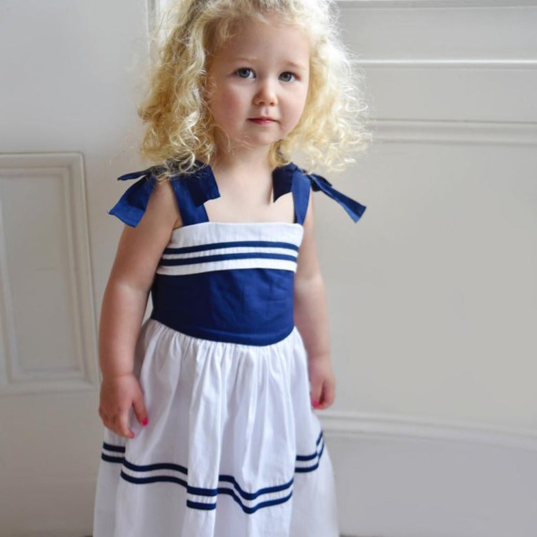 Strapped Top Sailor Dress