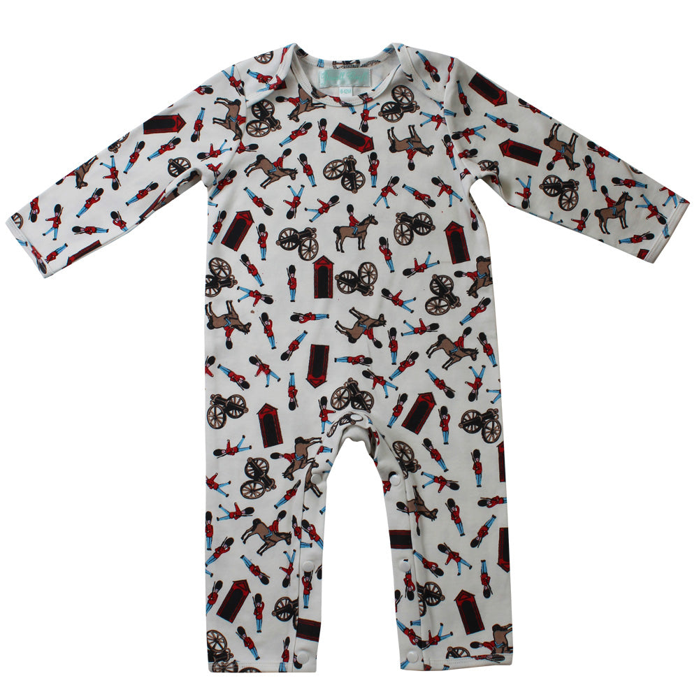 Horse Guard Print Jumpsuit