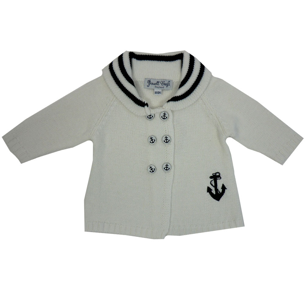 Anchor Pram Coat with Shawl Collar