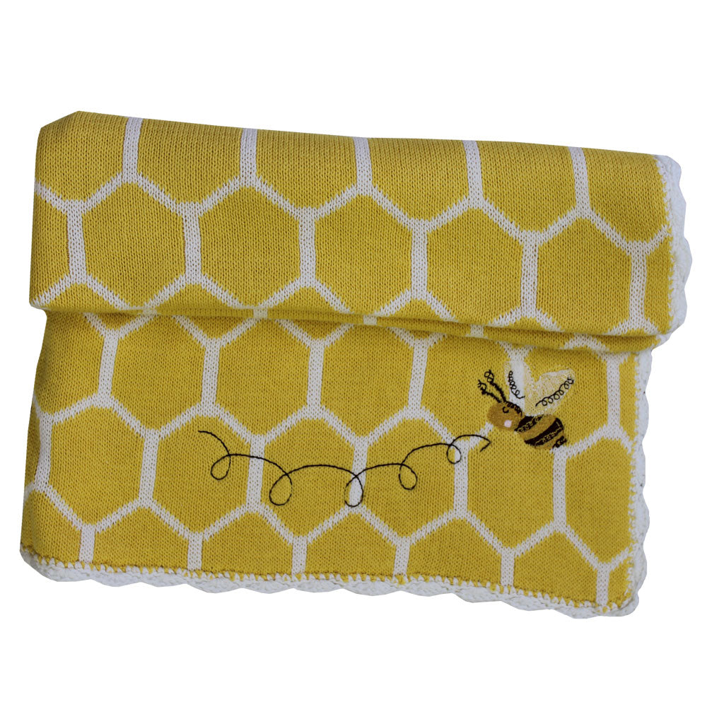 Bumble Bee Pram Blanket