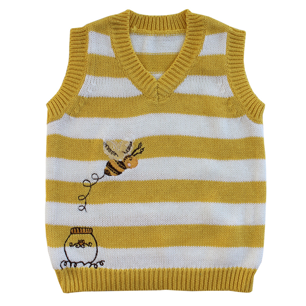Bumble Bee Knitted Tank Top