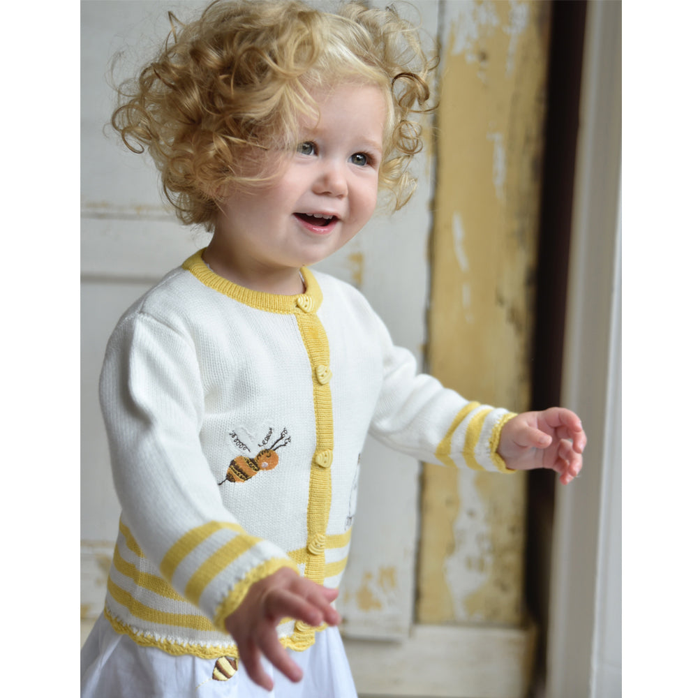 Bumble Bee Knitted Cardigan