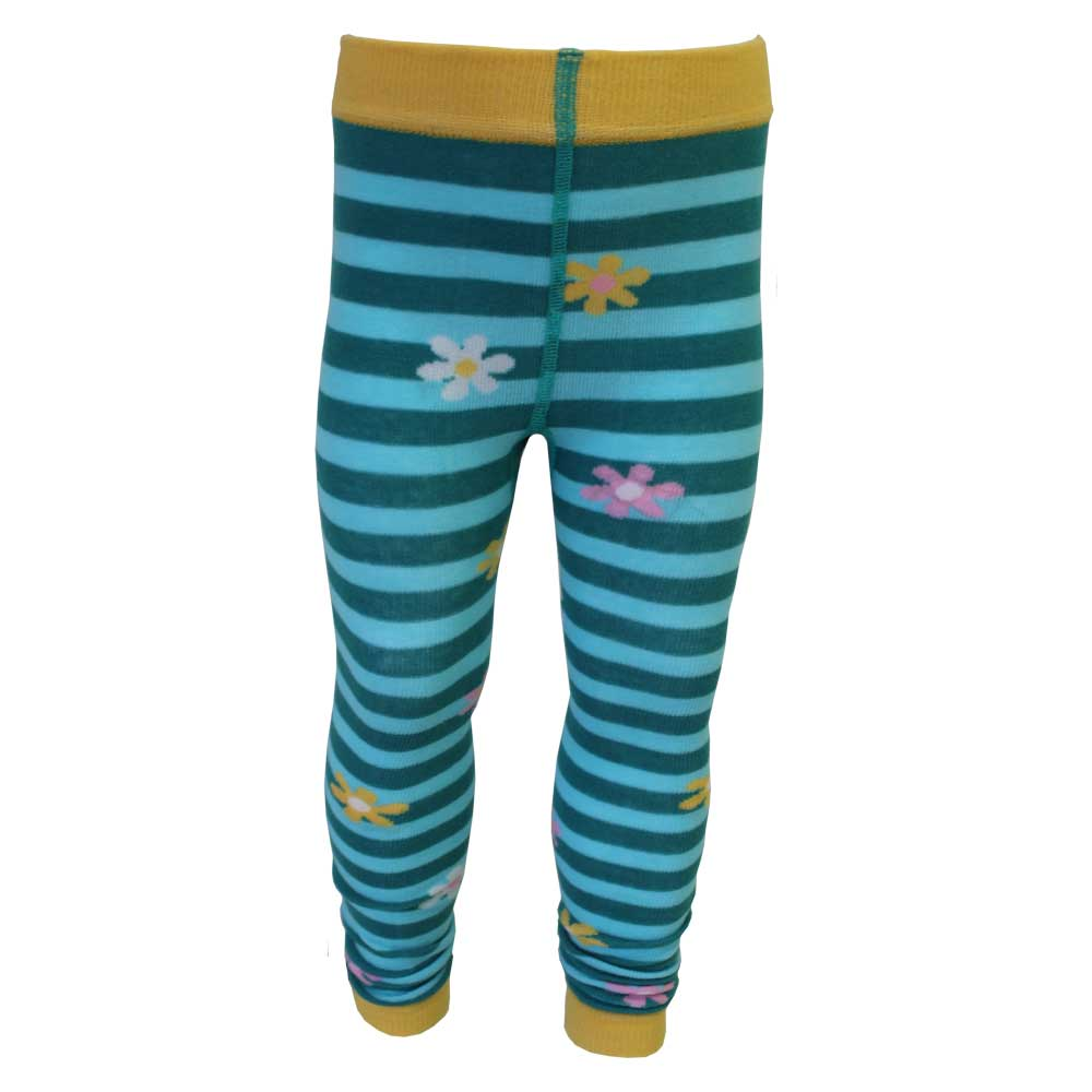 bumble bee themed footless leggings from powell craft