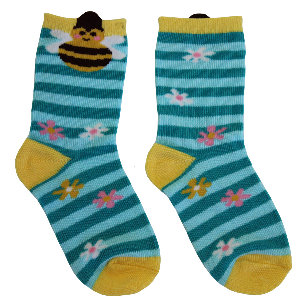 Bumble Bee Socks (PACK OF 2 PAIRS)
