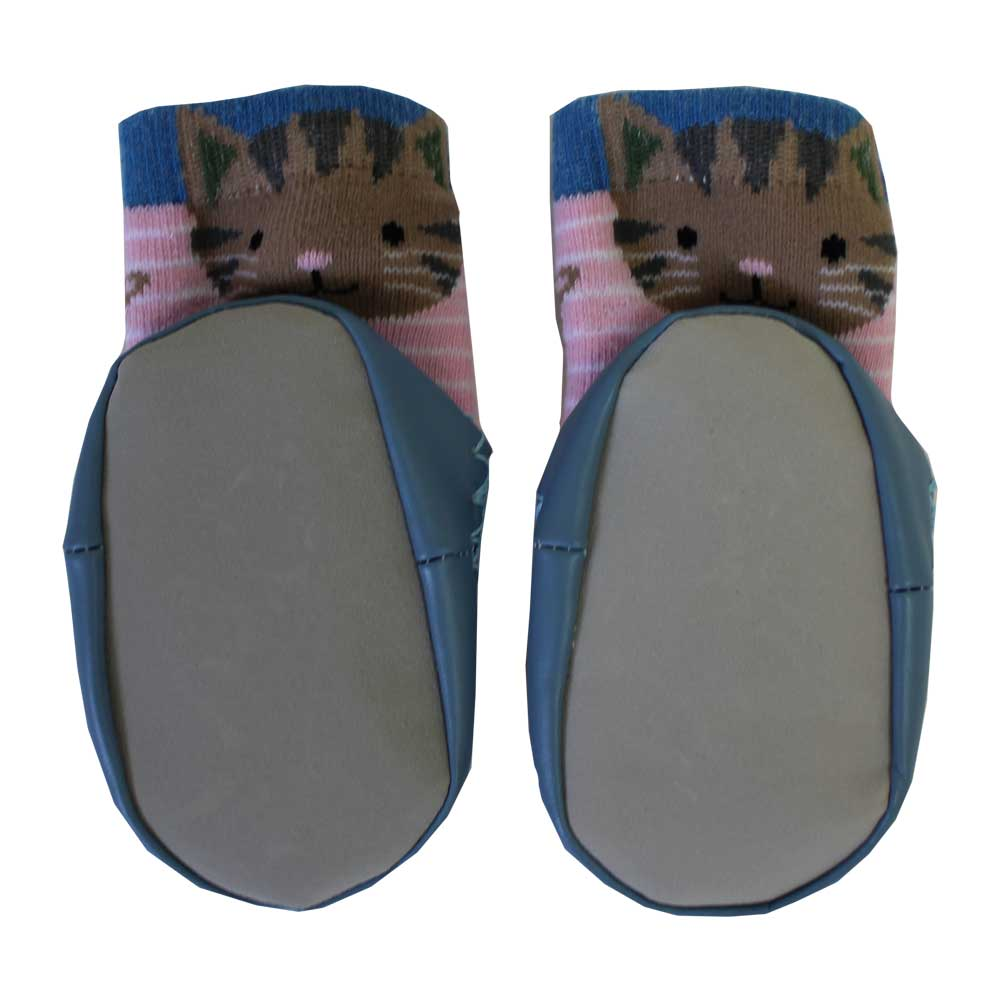 cat themed moccasin slippers from powell craft