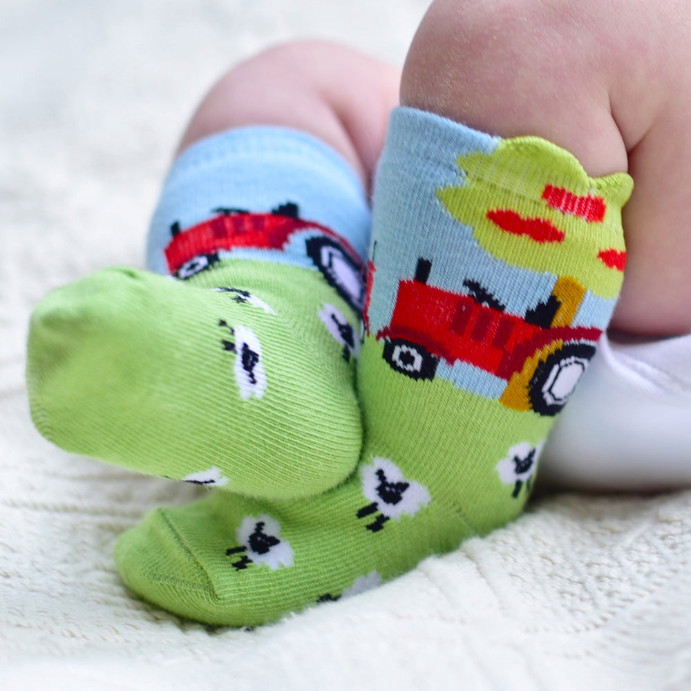 Farmyard Socks (PACK OF 2 PAIRS)