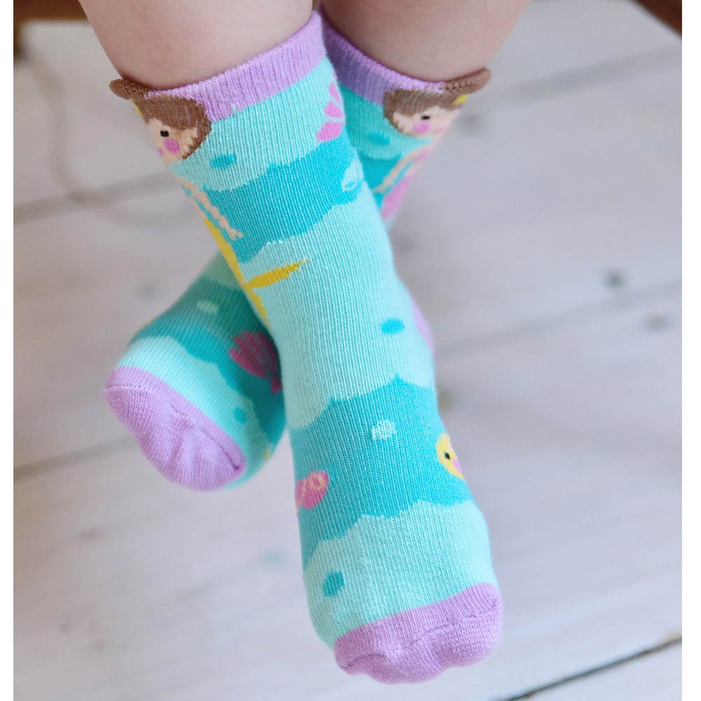 Mermaid Socks (PACK OF 2 PAIRS)