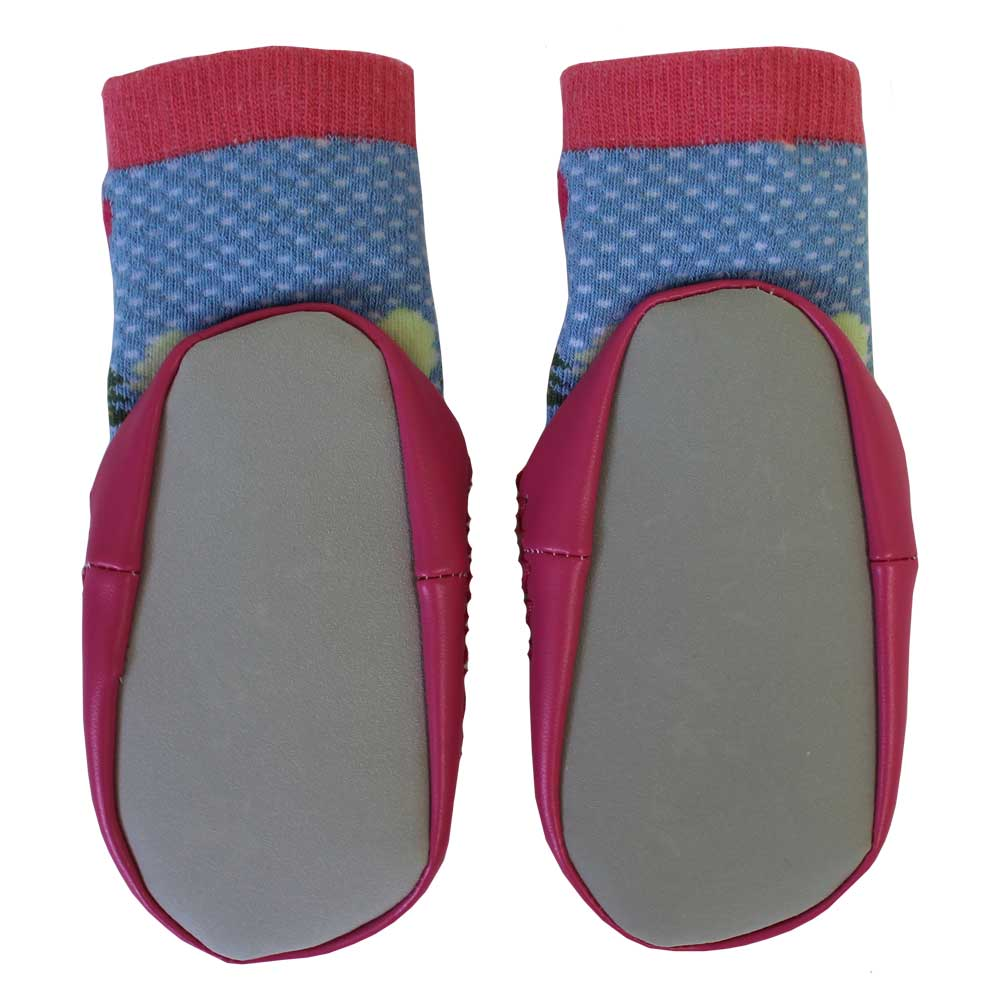red riding hood themed moccasin slippers from powell craft