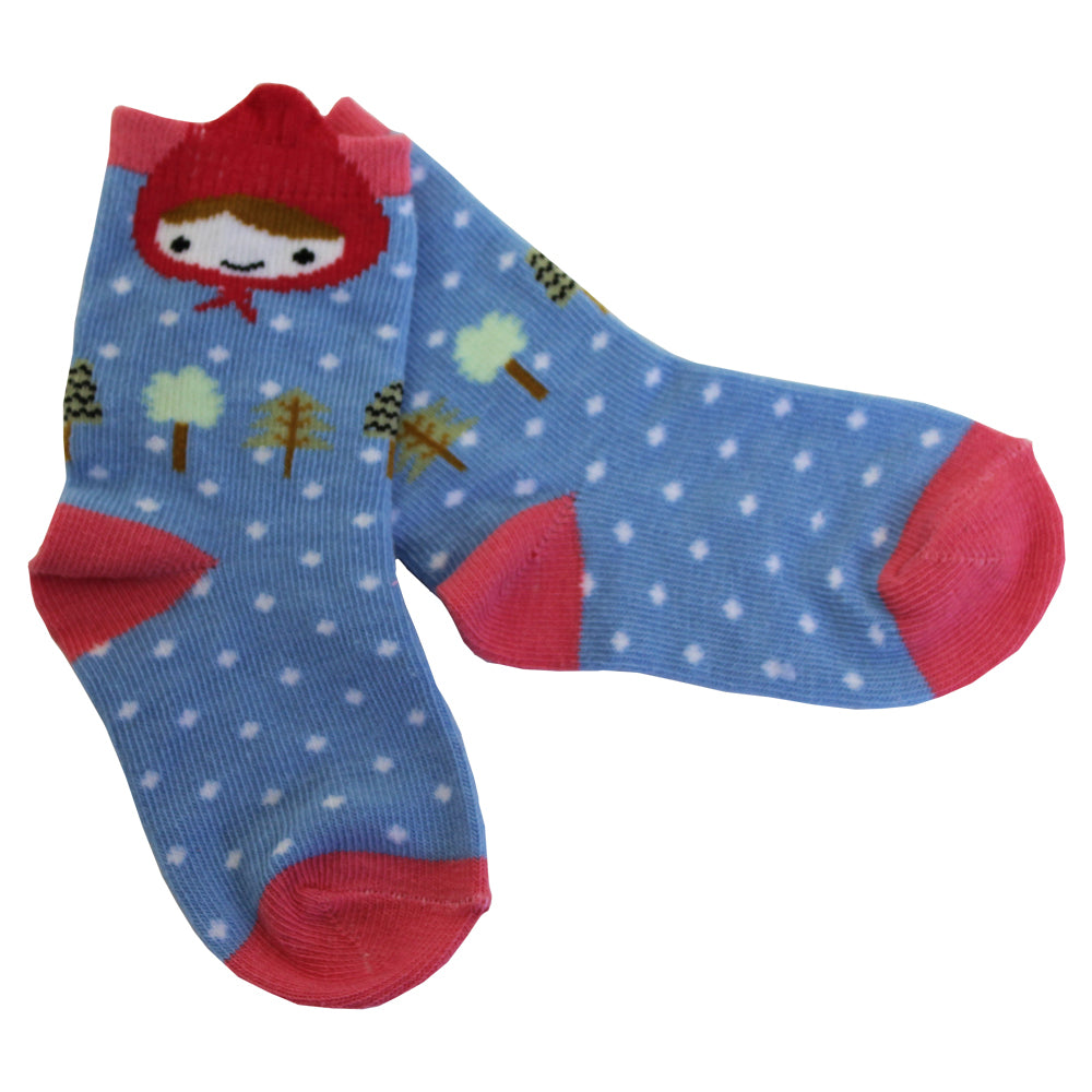 Red Riding Hood Socks (PACK OF 2 PAIRS)