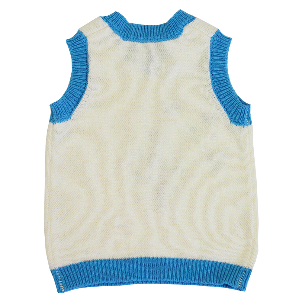 rocket and space knitted boys tank top from powell craft