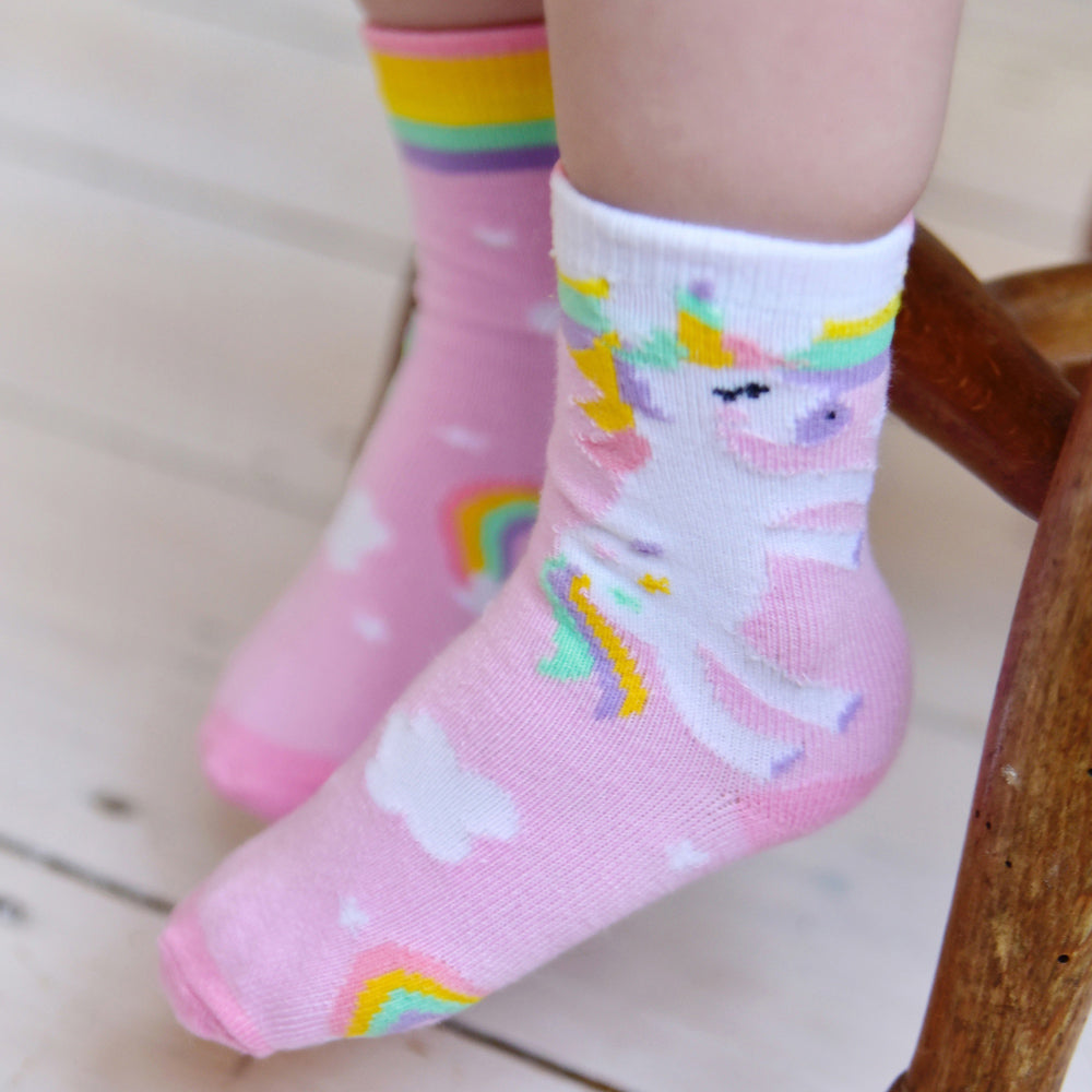 Unicorn Socks (PACK OF 2 PAIRS)